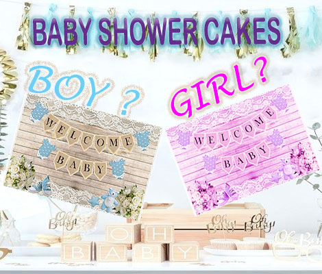 Baby Shower Cakes
