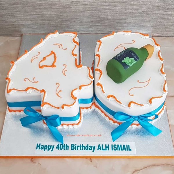 Number cakes are a classic